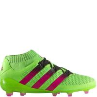 Buy cheap adidas ACE 16.1 Primeknit FG/AG Solar Green/Shock Pink/Black Soccer cleats - model AQ5151 from wholesalers