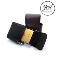 Buy cheap Cigarette Case Best Leather Cigarette Case Accessories with Lighter Pouch for Men from wholesalers