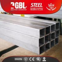 Buy cheap Pre-Galvanized Steel Pipe 150*150 square hollow structural galvanized steel pipe price list from wholesalers