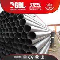 China ERW Welded Steel Pipe/ Hollow Section schedule 80 carbon steel pipe price on sale