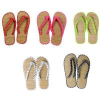 Buy cheap Personalized Printed Beach Sandal Man Flip Flop Woman EVA Slipper Shoes from wholesalers