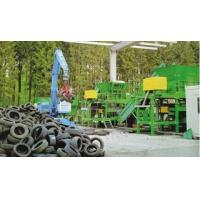 Buy cheap Shredder & Crusher Waste Tyre Recycling Production Line from wholesalers