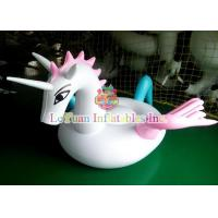 China Pegasus Lounger Inflatable Pool Floats , Funny Inflatable Water Park Games on sale