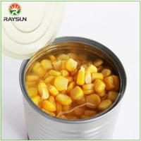 Buy cheap Organic Canned Sweet Corn in Brine product