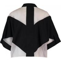 Buy cheap Black White Sheer Bat Wing Shirt from wholesalers