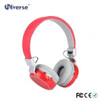 Buy cheap New Arrival Low Price Customize Wireless Stereo Headphone FM Radio Headphone With Sd Card Slot from wholesalers