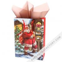 Buy cheap Paper Bags Christmas Gift Ideas Gold Luxury Paper Bag Christmas Gift Bags Wholesale from wholesalers