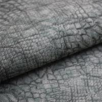 Buy cheap PU Leather Retro Sheep Imitation Snake Skin Leather from wholesalers