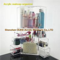 Buy cheap Bathroom Makeup Organizer Clear Makeup Storage Drawers Wholesales from wholesalers