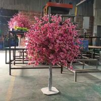 Buy cheap Item name: New 1.2m topiary cherry blossom tree for wedding table decoration from wholesalers