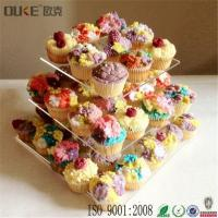 Buy cheap Elegant Fashion Clear Acrylic Cupcake Stands Plastic Vintage Cake Stands from wholesalers