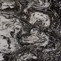 Buy cheap TR8008-Ink Clouds Moving black onyx artificial stone for interior home decor from wholesalers