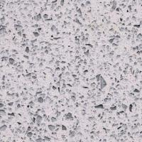 Buy cheap OP7020 Crystal Shinning White luxurious design kitchen top quartz material price from wholesalers