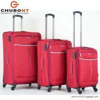 Buy cheap Polyester Travel Luggage Bags Built in Caster with Wheels in Small & Big Size from wholesalers