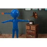 Buy cheap Mannequins Blue big head cartoon fiberglass children mannequin HQQ2Y0 from wholesalers
