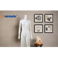 Buy cheap Mannequins Unique lamp head fashion fiberglass female mannequin HQQHV81 from wholesalers