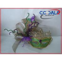 Buy cheap Mardi Gras Mask with Decoration On Side 20152418 from wholesalers