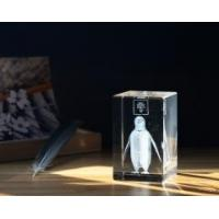 Buy cheap CRYSTAL CUBE Penguin Theme 3D Las Item No.: SHC-005 product