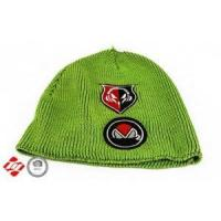 Buy cheap Green baby knitted hat with print from wholesalers