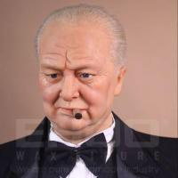 Buy cheap Figure Sculpture Life-size Human Resin Sculpture for Winston Churchill from wholesalers