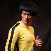 Buy cheap Figure Sculpture Custom Crafts Kung Fu Star Bruce Lee Life Size Resin Sculpture for Sale from wholesalers