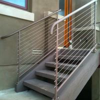 Buy cheap Railing Stainless Steel Wire Raiing Cable Balustrade Tension Wire Railings PR-B107 from wholesalers