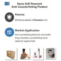 Buy cheap Nano Self-Powered Anti-Counterfeiting Product from wholesalers