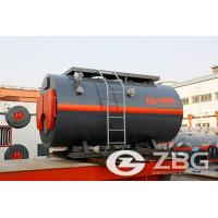 8 ton oil and gas fired boiler
