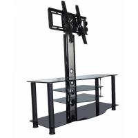 Buy cheap Glass TV Stands Tempered glass tv table stands for flat screens RA1402 from wholesalers