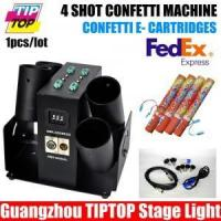 Buy cheap 4 Shot Confetti Machine (TP-T181A) from wholesalers