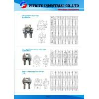 Buy cheap Wholesale High Quality Stainless Steel Rope Clips US/DIN/JIS Style for Rigging from wholesalers