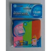 Buy cheap Neon paper sticky note set from wholesalers