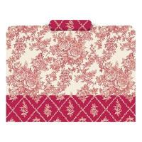 Buy cheap Rose Toile Tri-cut File Folder from wholesalers