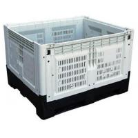 Buy cheap Large Bulk Containers Fruits And Vegetables Foldable Plastic Box from wholesalers