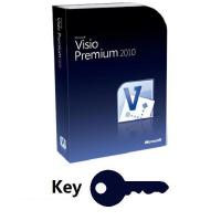 Buy cheap Office Visio Premium 2010 Key from wholesalers