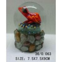 Buy cheap Polyresin frog snow globe from wholesalers