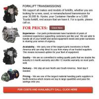 Buy cheap Transmissions for Forklift from wholesalers
