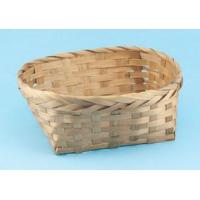 Buy cheap C-102 Oval stained bamboo basket product