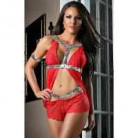 Buy cheap Lingerie Starlet Babydoll Christmas Lingerie N6828 from wholesalers