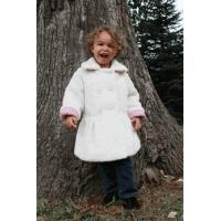 Buy cheap Magpie by Mack & Co Ivory Soft Berber Winter Girls Coat 4 Last 1 from wholesalers