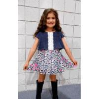 Buy cheap Lipstik Girls Layered Multi Color Overlay Dress w/Lace 4 6x 8 from wholesalers
