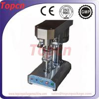 Buy cheap semi automatic can sealer equipment beverage beers from wholesalers