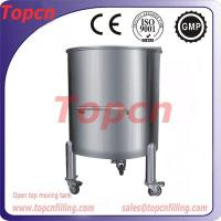 600L stainless steel uncapping tank