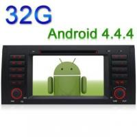 Buy cheap Android 4.4.4 GPS DVD Player for BMW X5 E39 E53 E38 5 Series 1024*600 3G WiFi from wholesalers