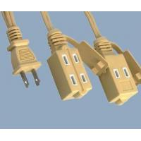 Buy cheap 1-15P to 1-15R 6 outlets North America indoor extension cord Item1-15P to 1-15R from wholesalers