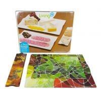 Buy cheap Custom 3 Pcs Rectangular Melamine Trays Set For Serving from wholesalers