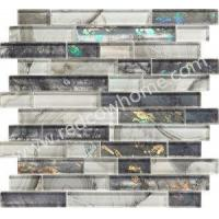 Buy cheap Laminating Glass Kitchen Backplash Mosaic product