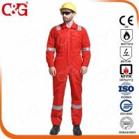 Buy cheap Nomex IIIA Flame Resistant Clothing fire retardant Aramid coverall for oil and gas from wholesalers