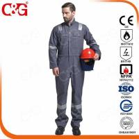 Buy cheap Nomex IIIA Flame Resistant Clothing 100% FR Cotton safety coverall from wholesalers