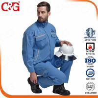 Buy cheap Arc Flash Protective Clothing 8.7 Cal Arc flash shirt and pants from wholesalers